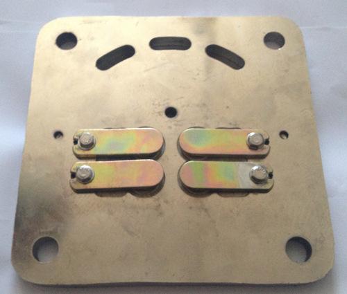 活塞空压机配件 双缸空压机气泵阀板