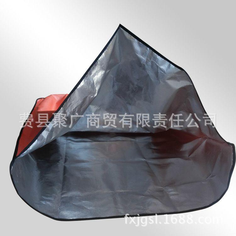 山东厂家供应 救生袋 防水睡袋 保温 户外 防灾 急救【图】