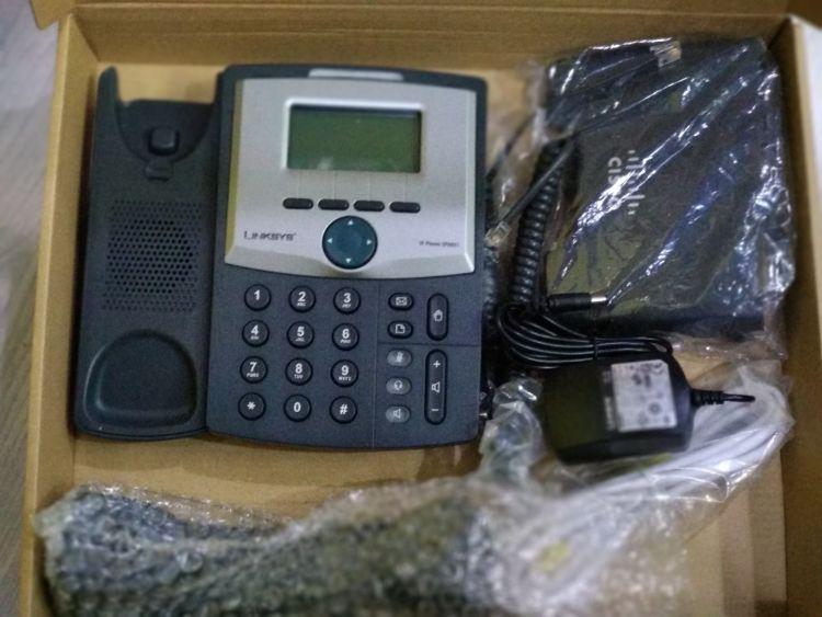 SPA921 思科IP电话机/语音网关 Cisco LINKSYS 1 Line IP Phone