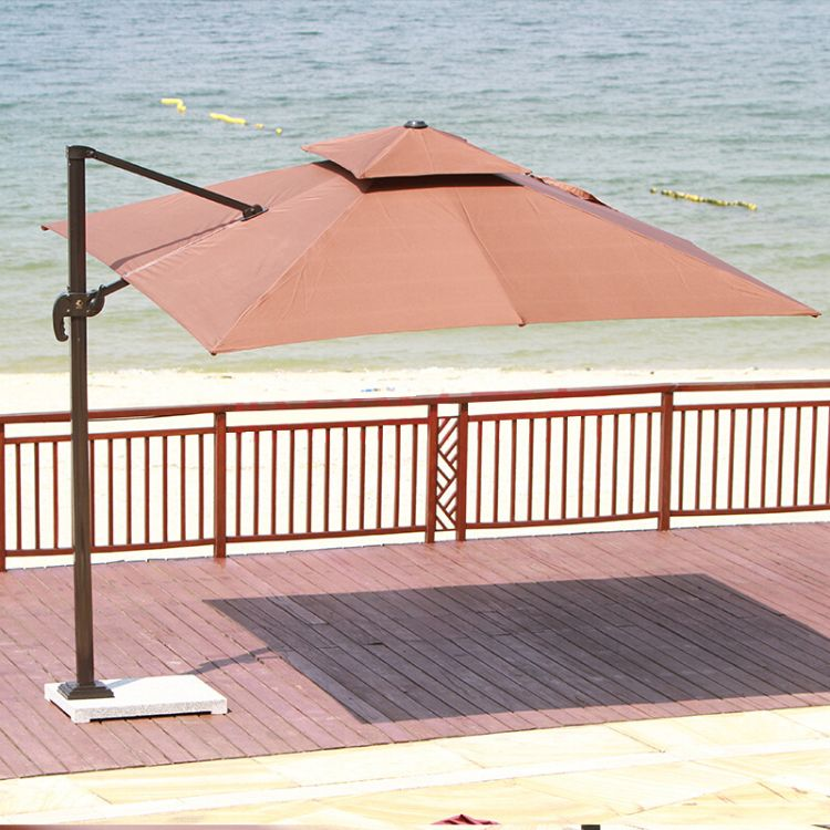 遮阳庭院伞超大太阳罗马伞花园露台室外沙滩伞工地广告雨伞定做