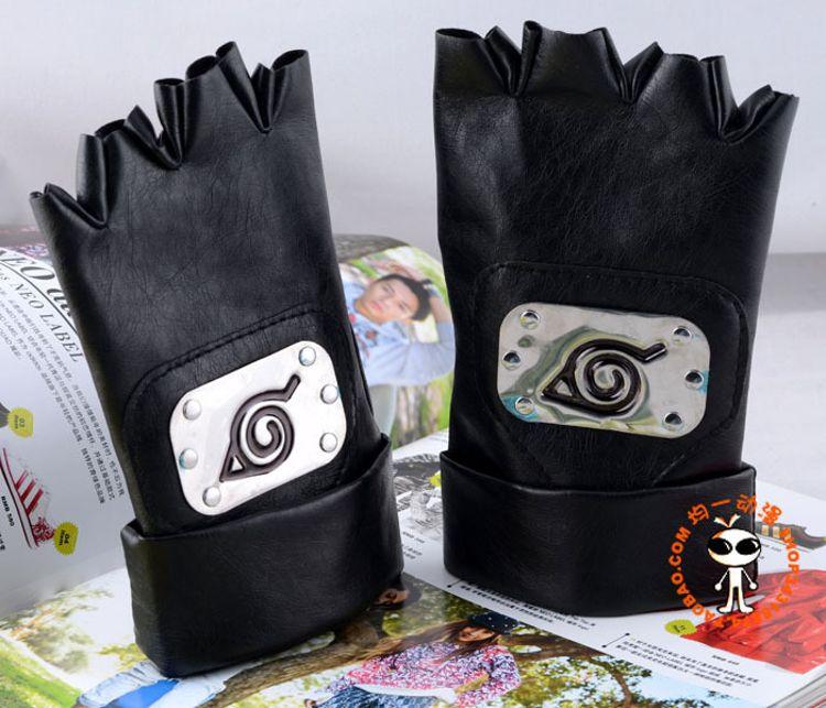 火影忍者木叶卡卡西手套Hatake Kakashi COS动漫周边批发护手具