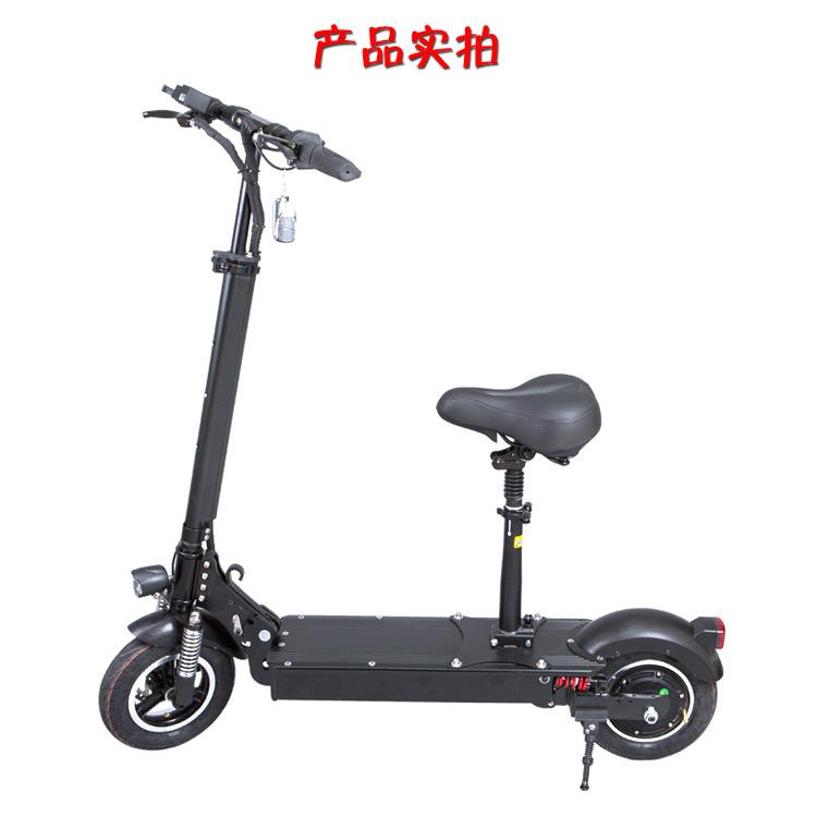 厂家批发迷你成人减震自行车两轮锂电池便携可折叠电动滑板车