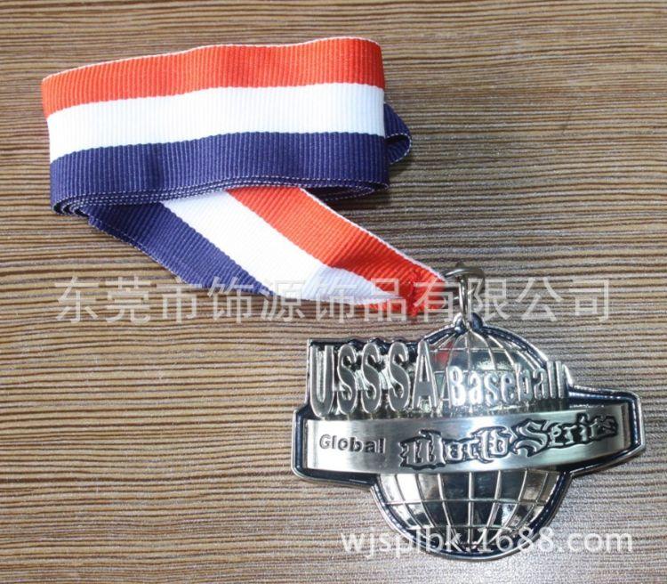 厂家专业生产各类竞技金属奖牌、定制金属奖品锌合金电镀记念奖牌