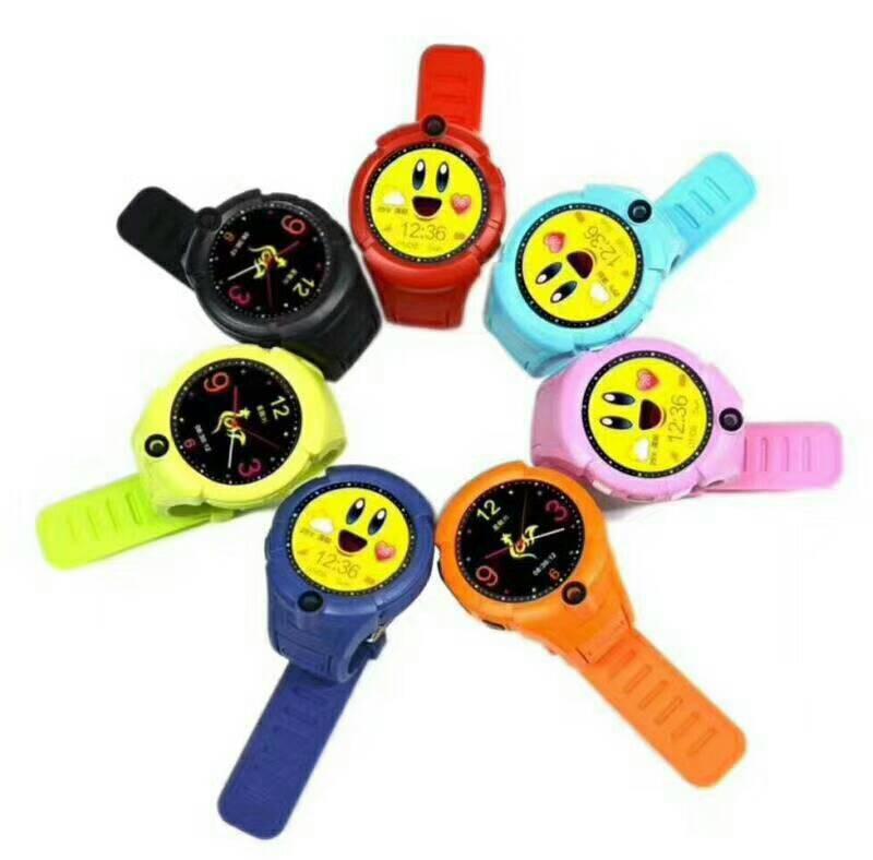 跨境Q360圆屏儿童电话手表WIFI定位拍照智能kids watchQ610S