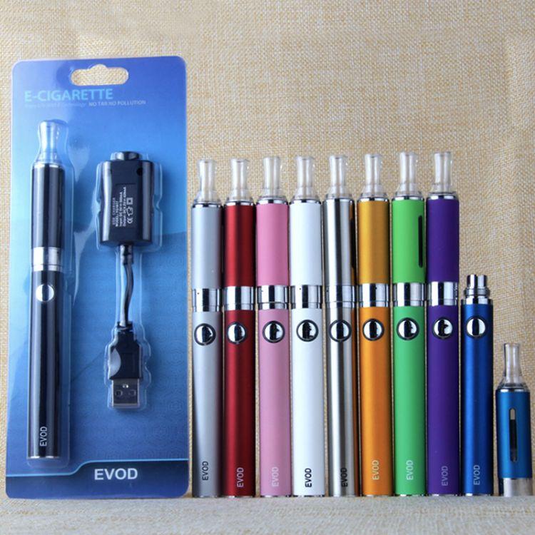 电子烟 EVOD+MT3雾化器吸塑套装 vape 大烟雾 电子烟套装 雾化器