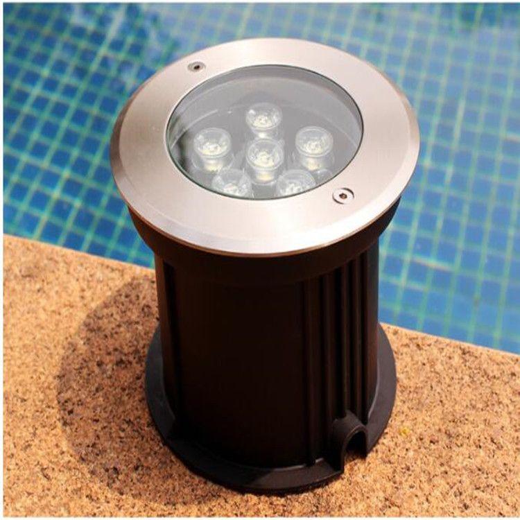优质厂家直销水下嵌入水下地泳池灯 水池灯 6W嵌入暗装泳池灯