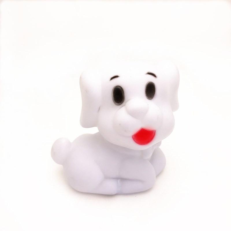 厂家直销 七彩宠物狗小夜灯 夜市套圈玩具 百款供选