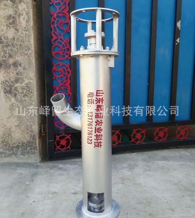 厂家直销立式吸粪泵 小型电动吸粪泵 热镀锌厚壁绞龙吸粪泵