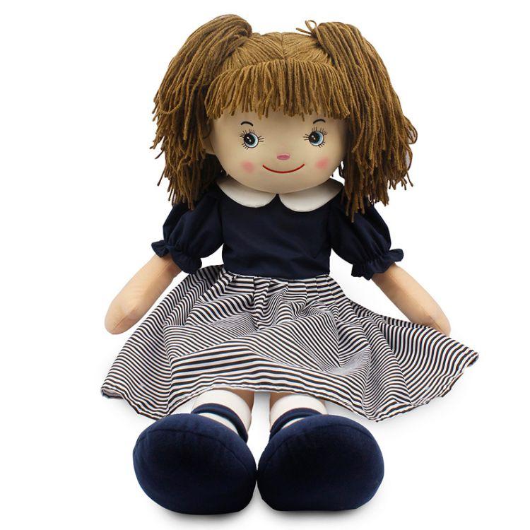 产地货源创意礼品毛绒玩具定制抖音玩具 抖音同款惊喜娃娃胡吉