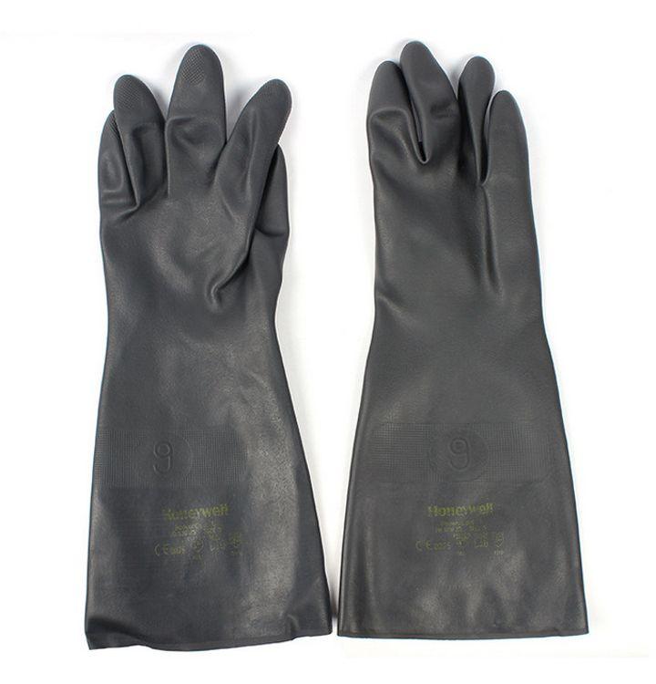 霍尼韦尔 2095025氯丁橡胶耐酸碱手套防化手套