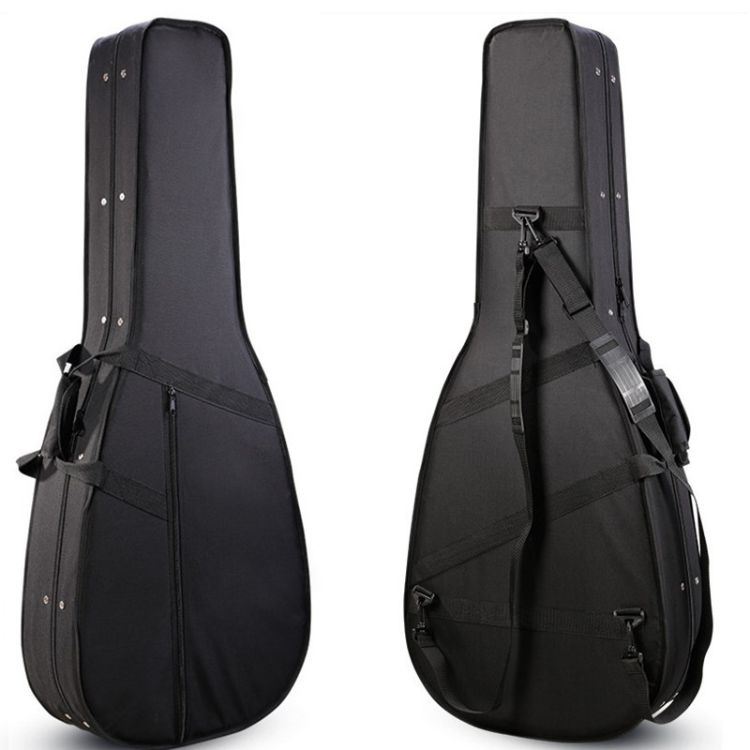 厂家直销泡沫吉他盒41寸双肩民谣琴箱加厚轻体加硬牛津布泡沫琴盒