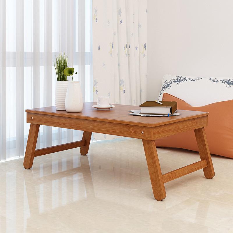 汇百丰 折叠桌家用小户型多功能炕桌长方形楠竹简易便携式小桌子