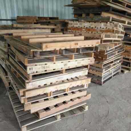 二手托板厂家供应广西南宁市工厂商装货堆放货物用出口免检二手板