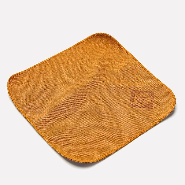厂家批发茶巾可定制LOGO吸水加厚棉麻抹布功夫茶具配件茶巾