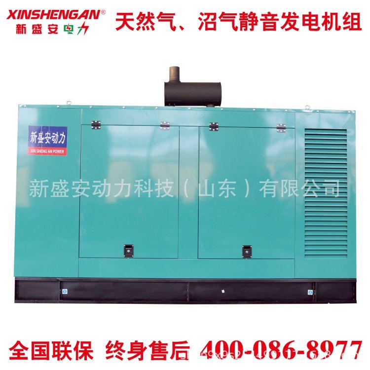 250kW 静音发电机组 发电机 潍坊 潍柴 玉柴 天然气 沼气