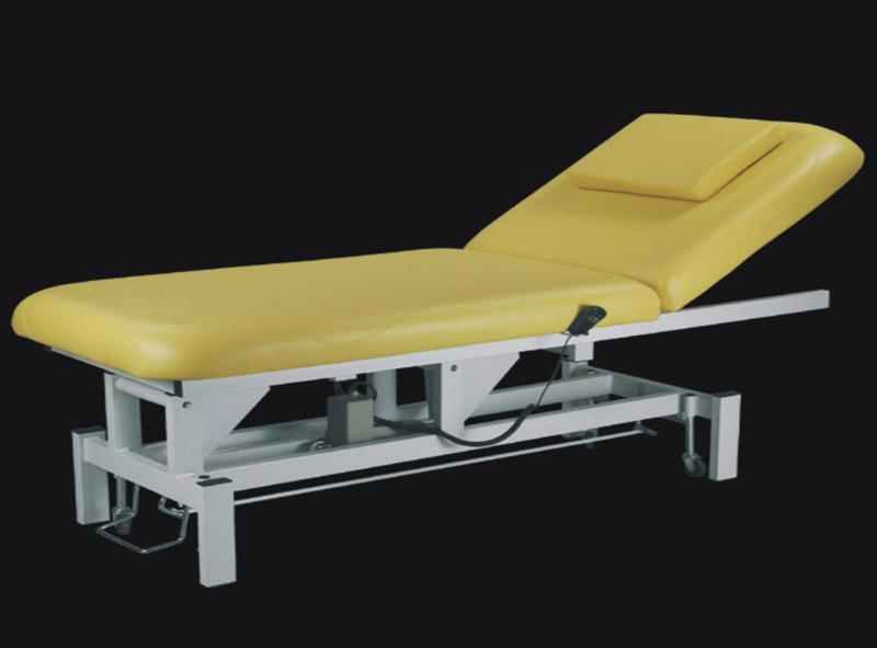 厂家订做优质电动美容床 光电床电动调节美容床生产厂家批发