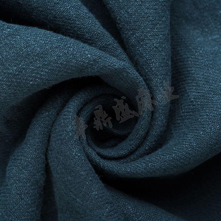 厂家直销斜纹麻 衣服床上用品用料苎麻面料 宽140cm麻类面料批发