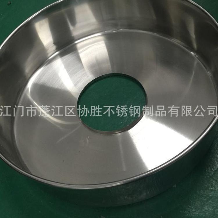 厂家大量批发订做不锈钢加厚棉花糖盘来图订做各类非标饭盘棉花盘