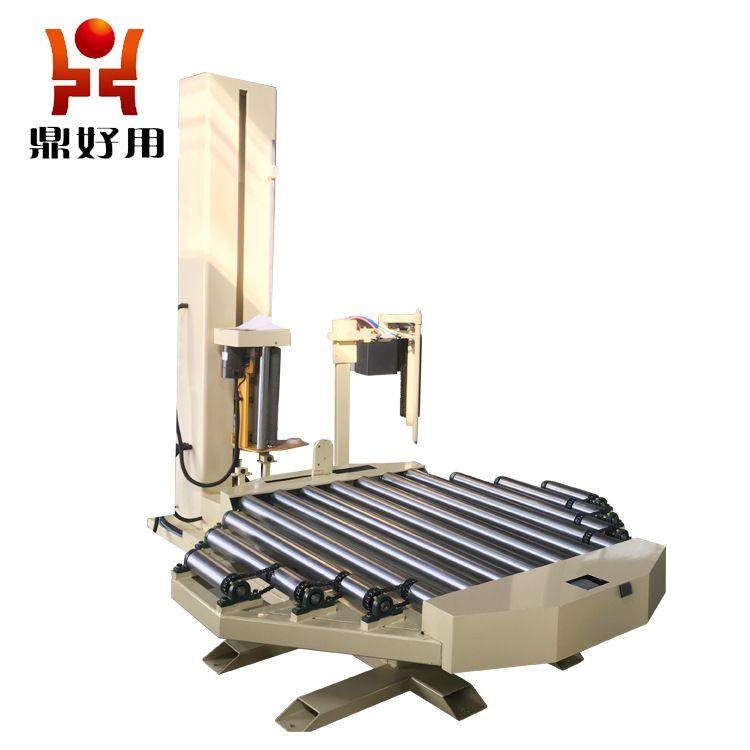 供应自动托盘缠绕机 在线式缠绕包装机 质量可靠欢迎咨询选购