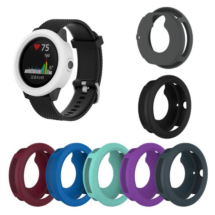 适用Garmin佳明vivoactive3智能手表硅胶保护套保护壳防老化
