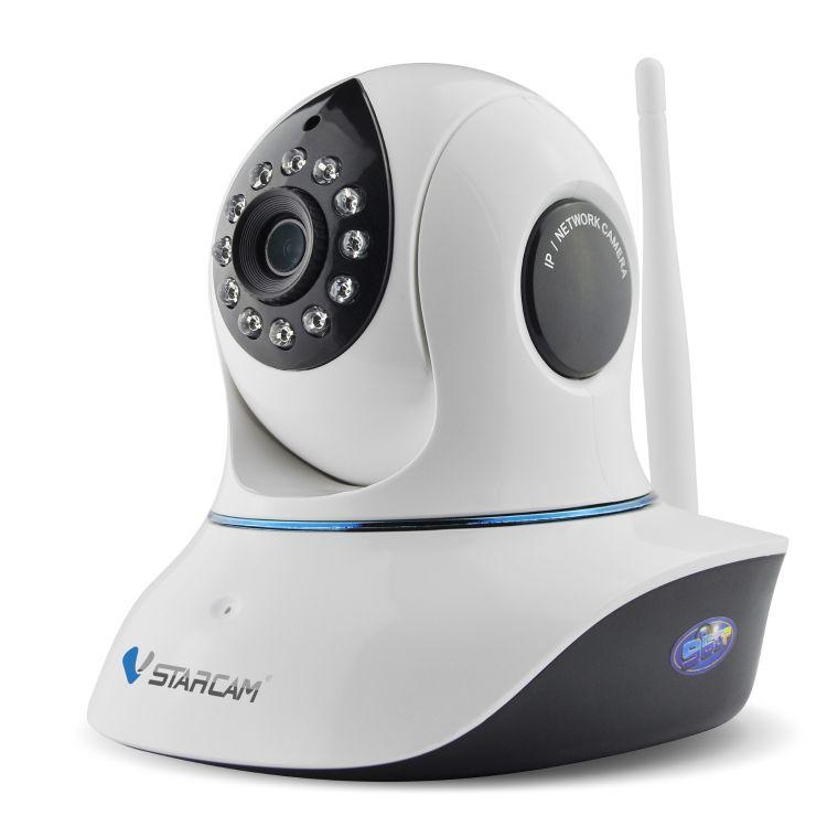 威视达康夜视摄像头 wifi网络监控摄像机 云存储高清安防摇头机