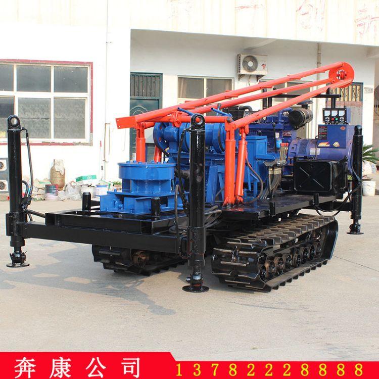 [厂家直销] 液压钻井机 勘探钻机 小型履带钻井机