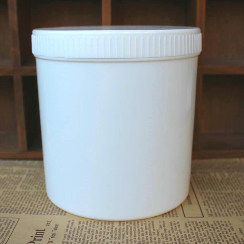 1000g粉末塑桶 塑料罐 白色塑料桶 乳液塑桶1000ml