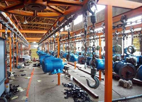 潍坊恒宇五金工具类喷涂 喷塑设备生产线 涂装流水线设备