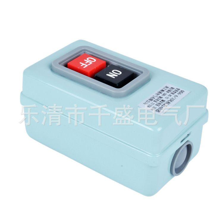 供应专业热销QS6-6/3磁力启动器 风机起动器 手动磁力启动器按钮开关