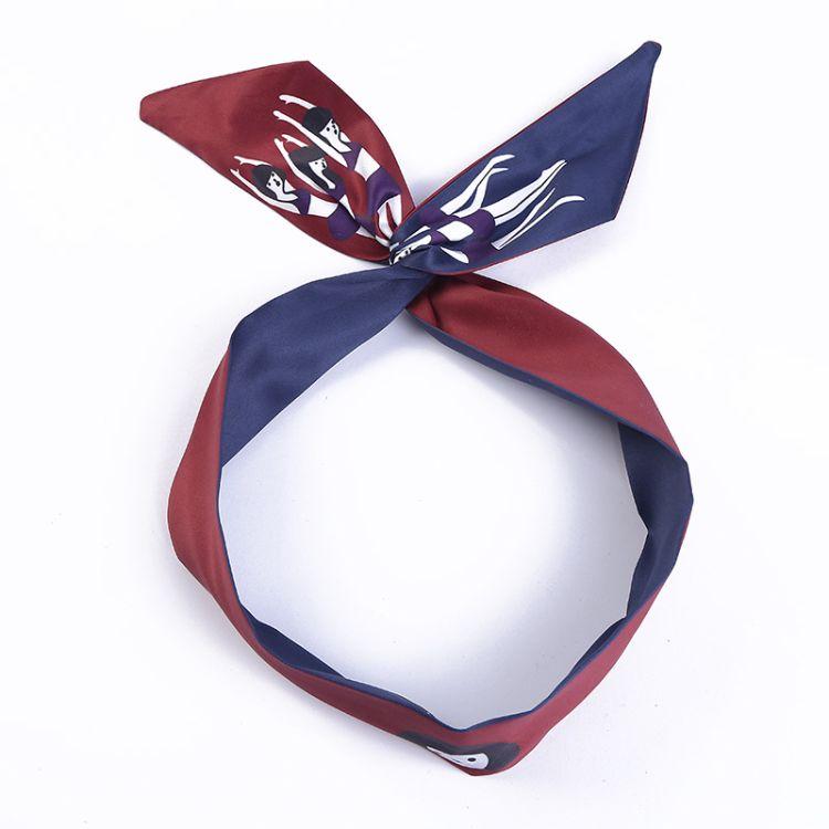 新款百变铁丝发箍女式甜美束发带个性几何造型发夹厂家直销