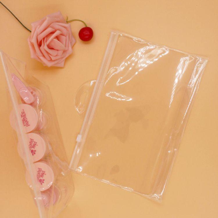 eva化妆品袋洗漱袋厂家批发pvc旅行袋 防水收纳透明塑料自封袋