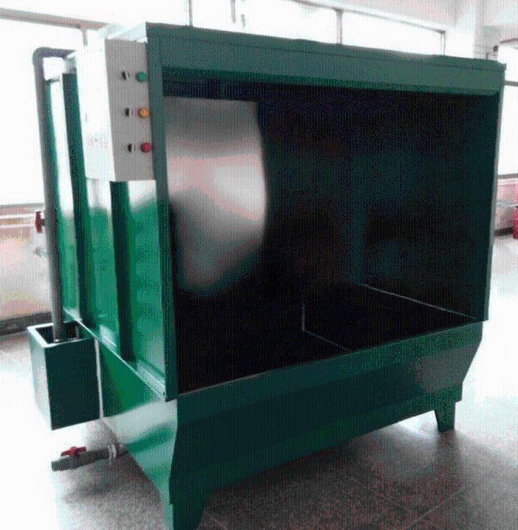 厂家供应非标1.5米喷漆水帘柜 双位水帘柜水帘机