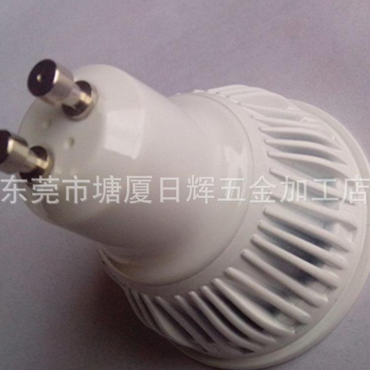 厂家直销 新型贴片射灯外壳套件 LED电镀灯杯外壳 GU10套件