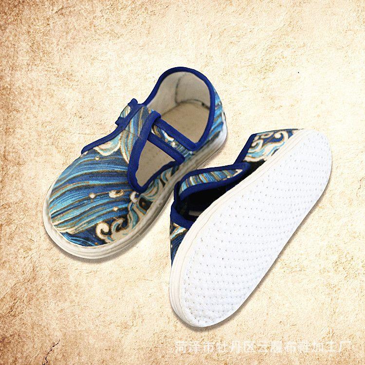 新款儿童鞋 儿童凉鞋魔术贴 学步鞋 软底千层底