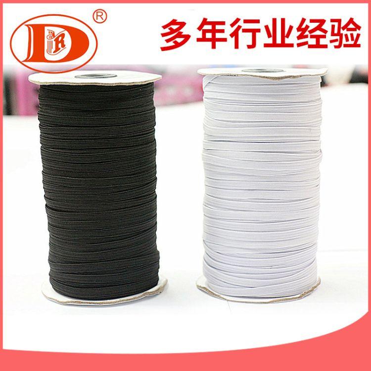 0.6cm进口大卷筒高强织带 黑白色涤纶织带 厂家销售
