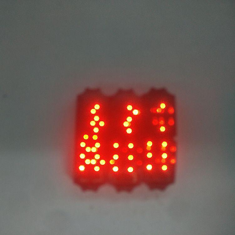 现货批发LED手表红灯机芯一代二代手环通用电子机芯LED手环表