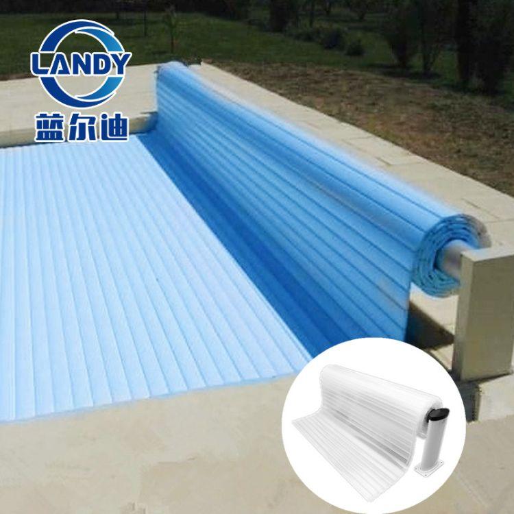全自动遥控电动泳池盖系统 可承重110kg  防溺水 广州蓝尔迪厂家