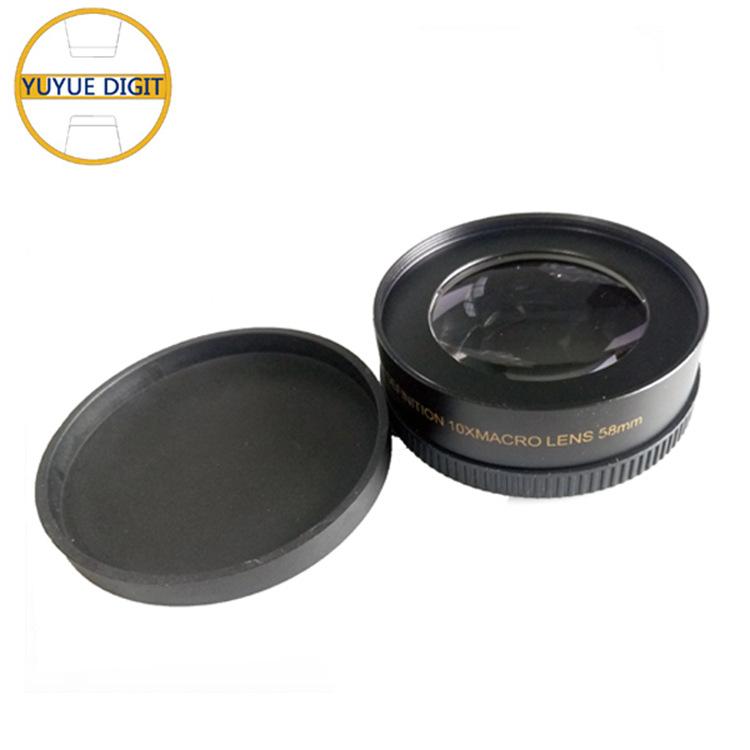 厂家直销|通用超广角10X倍增距附加镜|单反增距镜头|相机附加镜
