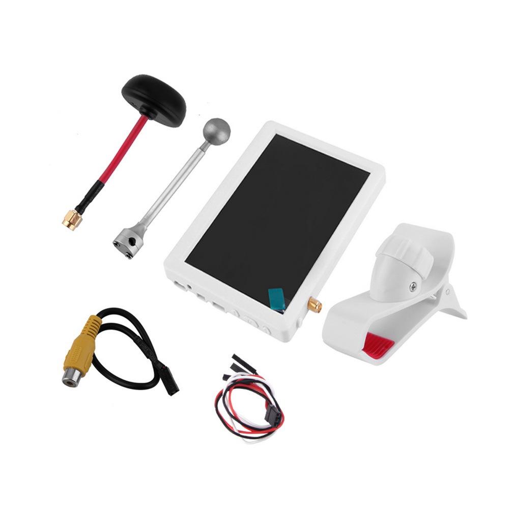 厂家直销航拍小飞手1代2代5寸带高清FPV雪花屏航拍专用显示器