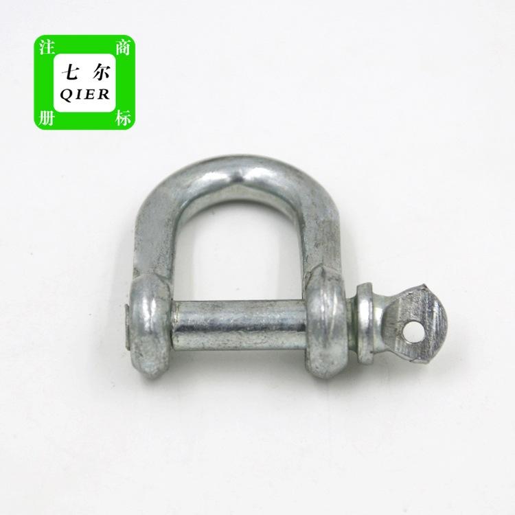 产地货源国标U型卸扣国标卸扣重型卸扣钢丝绳专用品质可保证