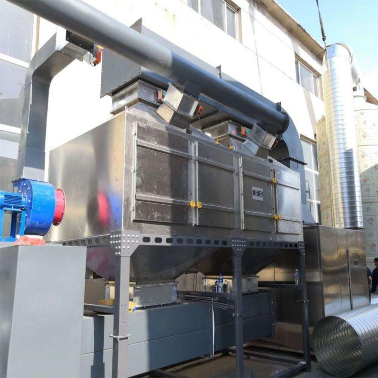 鹏龙环保 vocs废气处理催化燃烧设备厂家 定制vocs废气处理催化燃烧装置