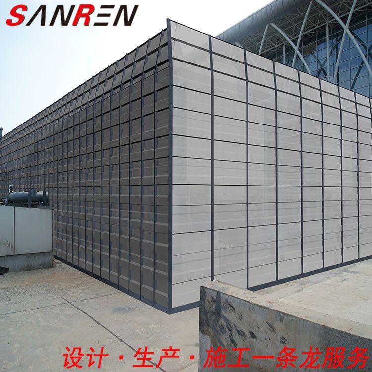 声屏障 冷却塔声屏障专业生产厂家 空调外机隔音屏安装施工