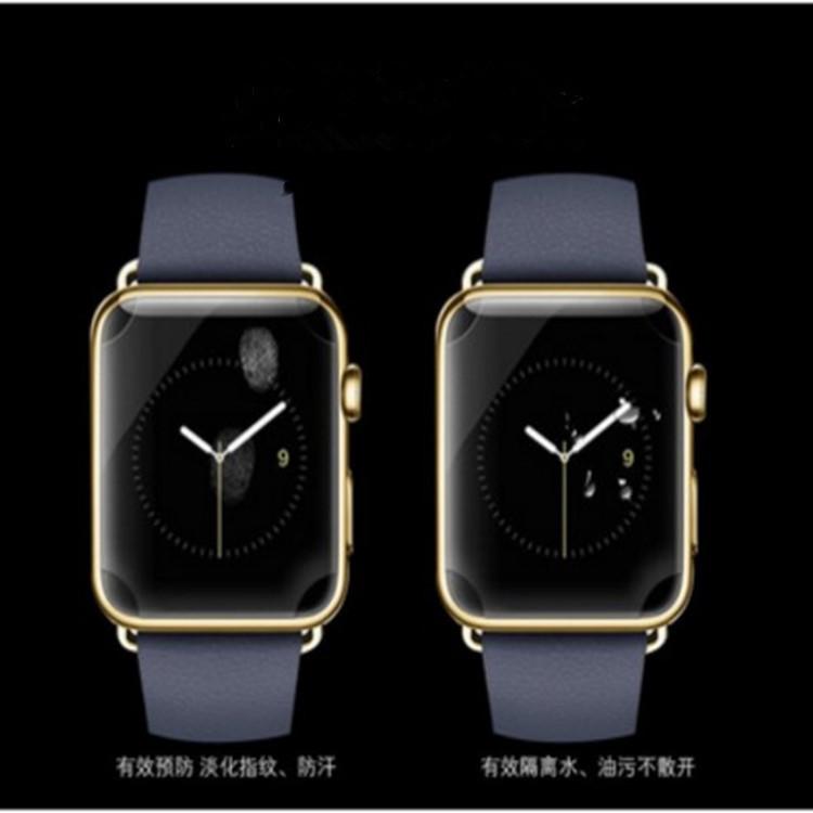 适用于apple watch 1 2 3 4手表屏幕贴膜TPU全屏软膜38/42mm40 44