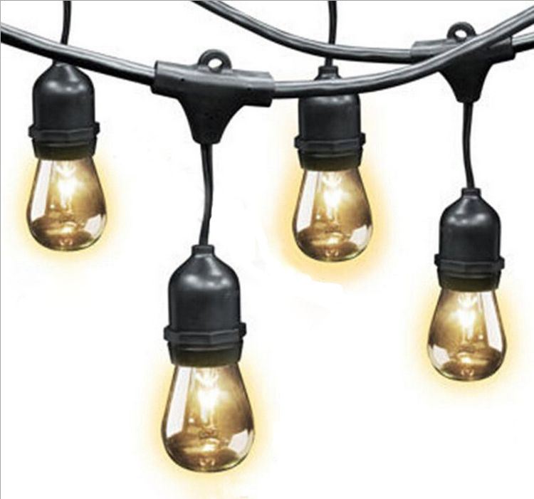 现货批发节日 婚庆装饰灯具 灯杆造型灯 LED防水灯串