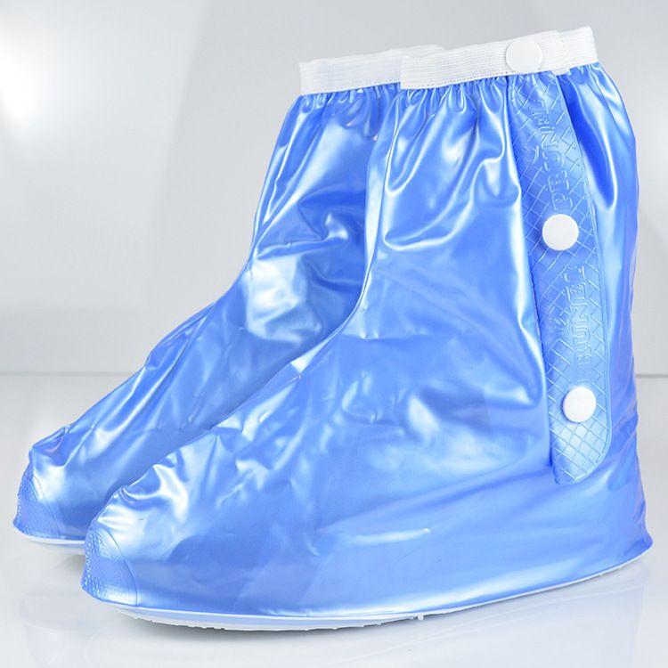 PRUNEL侧边扣时尚雨鞋套 雨天防水防滑护鞋套鞋 男女雨靴赠品批发