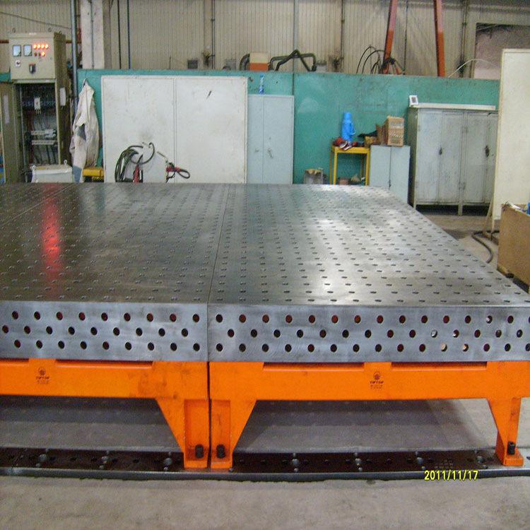 新航现货销售 铸铁三维柔性焊接平台平板 焊接三维平台平板型号齐全