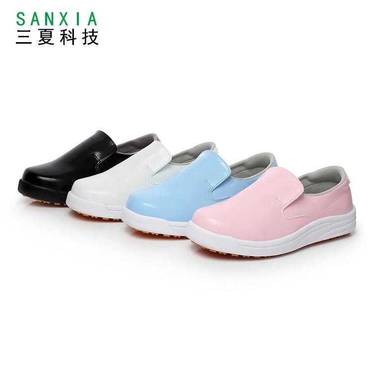 防油防水防滑工作鞋食品加工鞋 日本厨师鞋 三夏科技工作鞋
