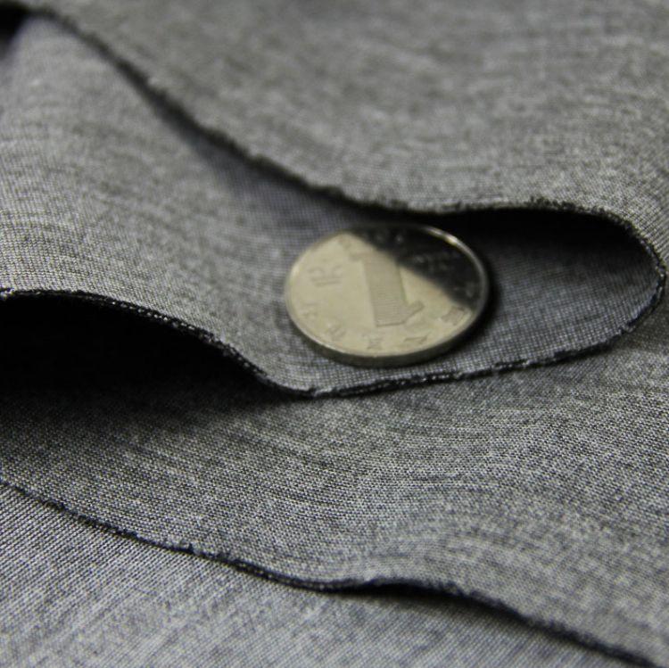 厂家现货直销 涤棉针织彩段空气层 空气棉布料时尚卫衣鞋包面料