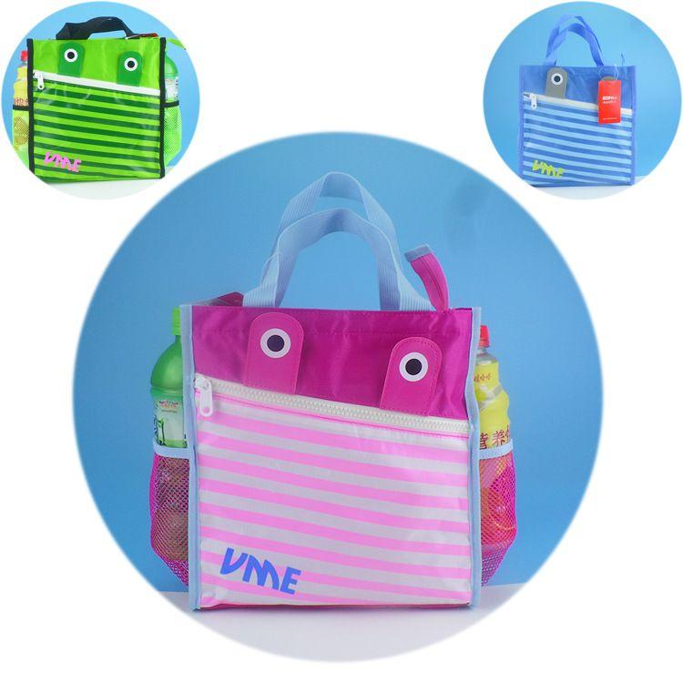 补习袋手提袋子儿童男女孩卡通小学生小拎包饭盒袋便当包一件代发