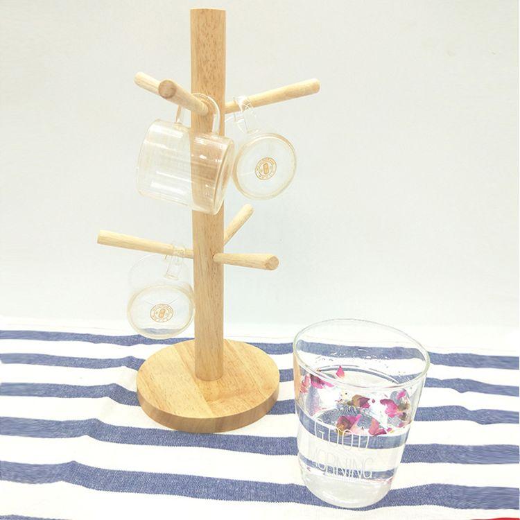 厂家直销相思木红酒杯架个性生活摆件树形杯架玻璃杯沥水礼品木架